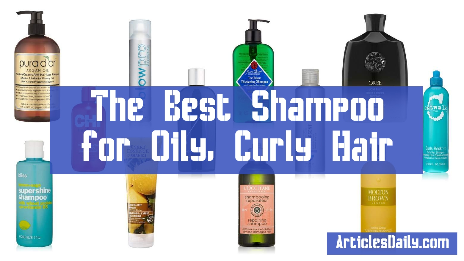 The Best Shampoo for Oily, Curly Hair
