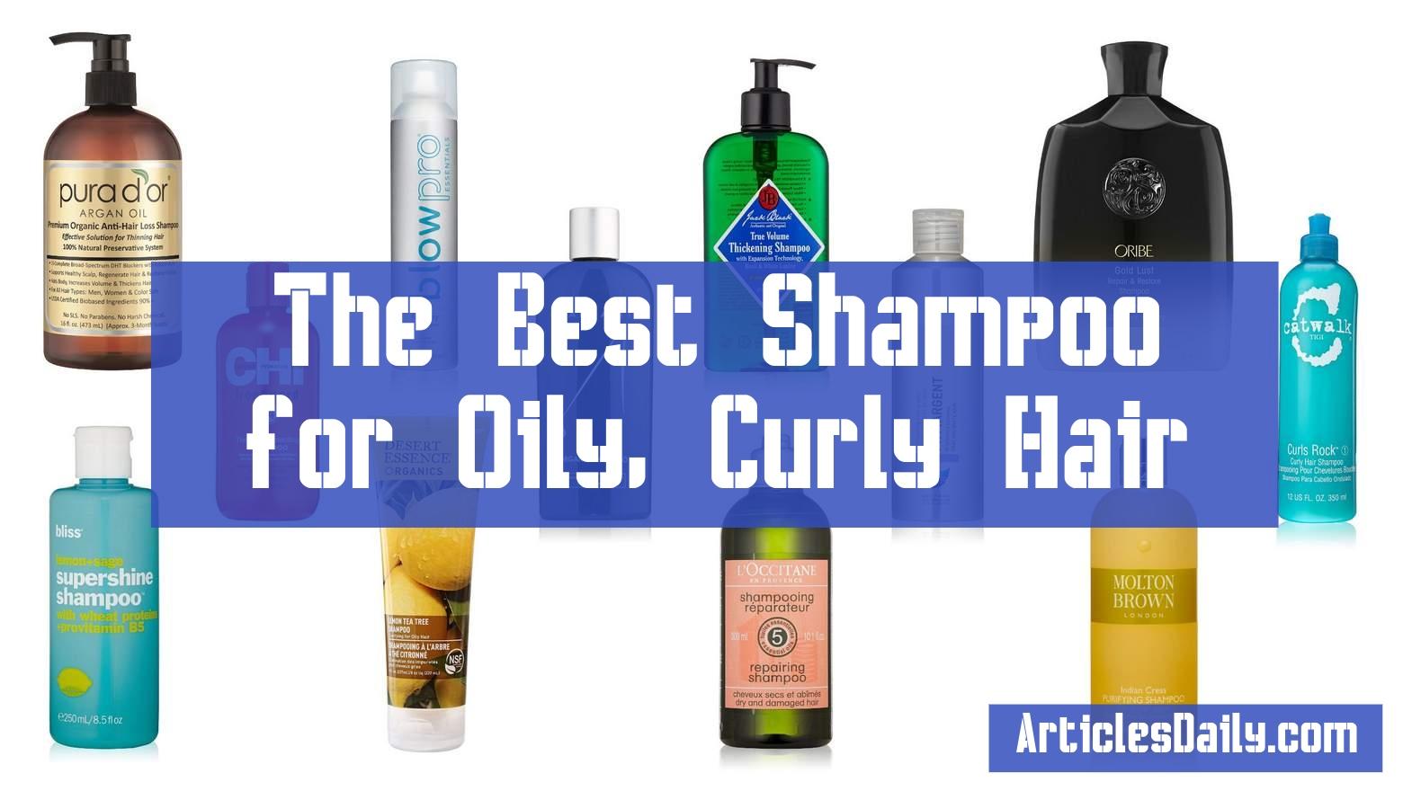 The Best Shampoo for Oily, Curly Hair-articlesdaily.com-shmilon